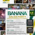 Banana Salsa Party no 3: plus Certificate ceremony and …. Farewell to Otto!