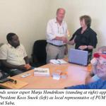 Koos Sneek PUM-representative