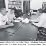 Contract for recycling signed