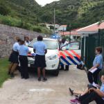 Children of Sacred Heart School visit new police station in The Bottom