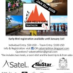 Registration is open: Saba Triathlon, January 31, 2015