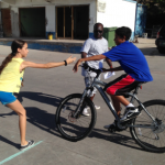 Saba Comprehensive School students compete in mini-triathlon