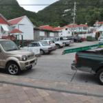 Parking Windwardside (Photo GIS Saba)