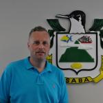 Wim van Twuijver, Island Secretary (Photo GIS Saba)