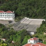Government owned cistern in The Bottom (Photo GIS Saba)