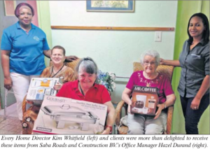 Season gifts for Old Age Home