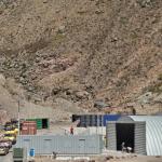 The new recycling facility at Fort Bay. (Photo GIS Saba)