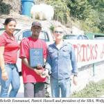 SBA awarded Patrick Hassell
