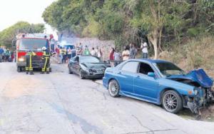 Accident near Windwardside - Update press release Police
