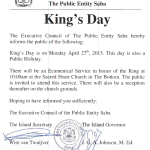 King's Day and King's Games celebrations on Saba