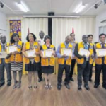 Six new members join Saba's Lions