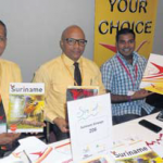 New faces at SMART 2015 Surinam Airways and Mets Travel & Tours representatives.