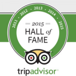 """Scout's Place in TripAdvisor's """"Hall of Fame"""" – 2015"""