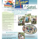 Children of The Caribbean Carnival Troupe thank their sponsors