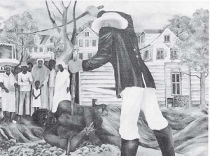 Slavery was one of the themes of Heilbron's socio-political art.