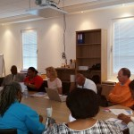 Social Affairs and Labor meet Saba Statia stakeholders