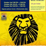 Child Focus presents: The Lion King – October 2-9