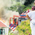 St. John's home destroyed by fire